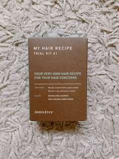 Innisfree My Hair Recipe Trail Kit 01