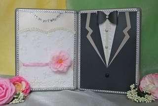 婚禮人情箱,全新,有鎖有匙,手作