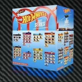 Hotwheels Factory Seal 2018 Master Case