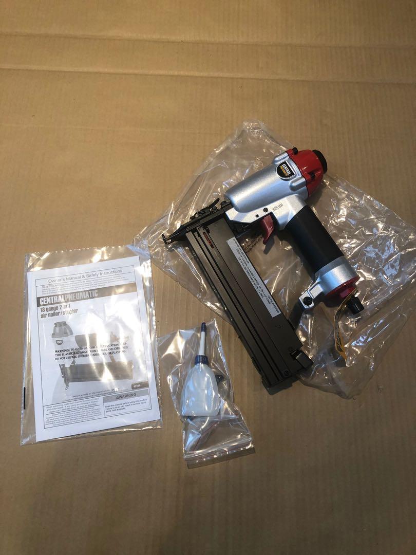 18 Gauge 2 in 1 Air Nailer / Stapler