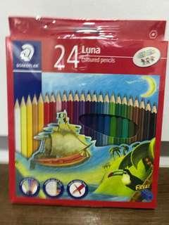 BNIB Staedtler 24 Luna Coloured pencils
