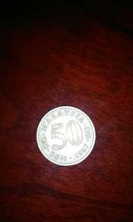 50 sen lama 1967