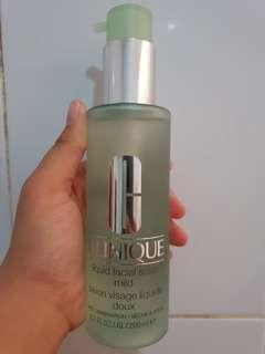Clinique liquid mild face