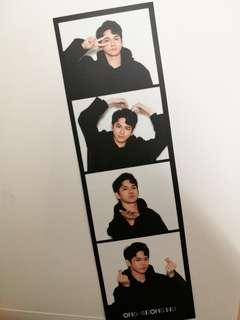 Wanna One Photo Essay Ong Seong Wu 4-cut Photo Strip