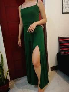 Long Gown (Emerald Green) for Rent (LOW PRICE!)