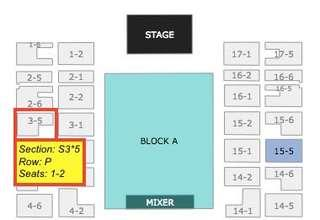 The Weeknd Concert Front Row Seated Ticket
