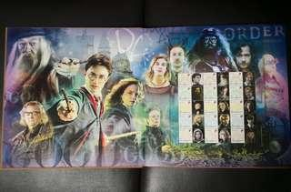 Harry Potter Stamp and Postcards Book