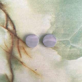Handmade peace earrings 2
