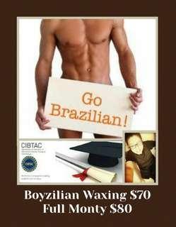 Boyzilian Waxing & Lady Brazilian Waxing