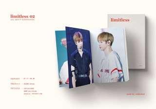 "Wanna One Kang Daniel Photobook ""limitless 02"" by unlimited"