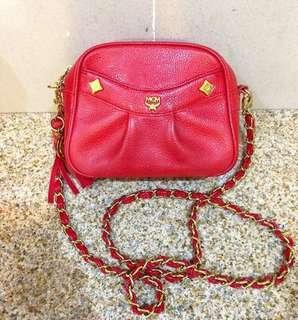 100% authentic MCM chain bag