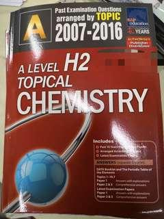 H2 Chemistry Topical Revision