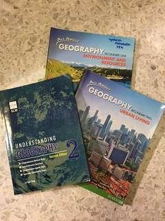 Geography Textbooks and Workbooks