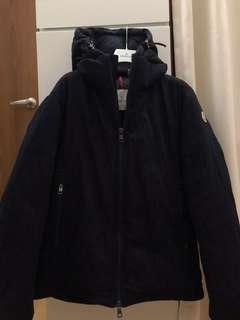 🚚 MONCLER 法國羽皇羽絨 牛仔羽絨外套(尺寸3號) 99成新只穿過一次即送洗