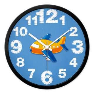Kids' Edition: The Aeroplane Clock | Wall Clock