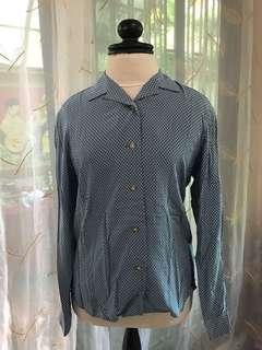 Authentic Uniqlo polka-dots blouse