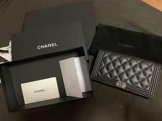 BOY CHANEL WALLET (FULL SET)