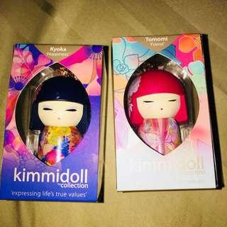 """KIMMIDOLL collection keychain """"Friend"""" and """"Happiness"""""""