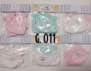🚚 $12 for 6 sets / Newborn Baby Girl Mittens And Booties set