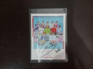 (REAL) WANNA ONE JAEHWAN SIGNATURE
