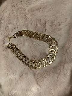 Mimco Breeze Chain Choker Gold