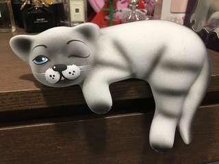 7吋 陶瓷貓 購自俄羅斯
