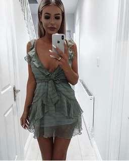 Ruffle summer dress FREE SHIPPING INCLUDED