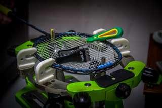Badminton stringing service replace faulty grommets
