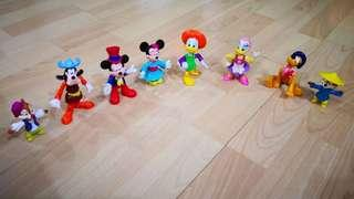 Mcdonalds Happy meal Epcot Centre Disney Mickey Mouse Toys 1994