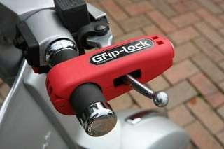 Grip Lock. Secure and double lock your precious bike.