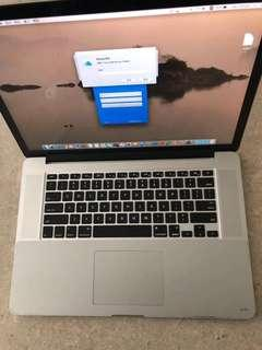 "Apple MacBook Pro 15"" retina 2012"