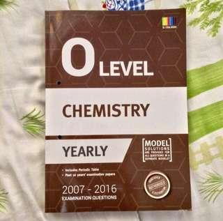 O Level Chemistry Past Exam papers
