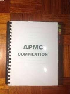 APMC PLE Questions compilation
