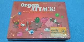 Organ Attack Card game with expansion deck