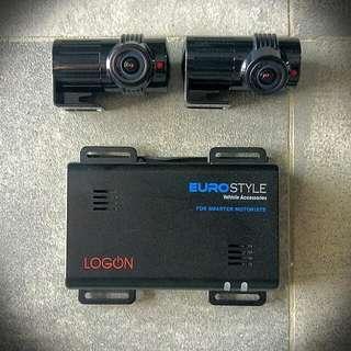 Car Camera DVR Eurostyle JS400N F/R + GPS