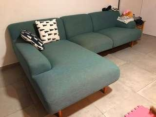 Castlery couch sofa