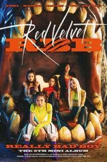 (PO) RED VELVET REALLY BAD BOY ALBUM