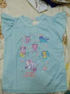 全新sanrio jewel pet 小童130 T shirt