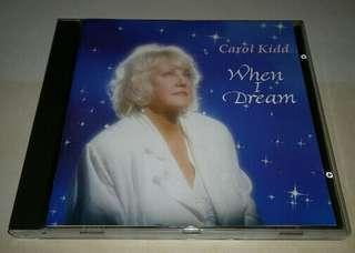 CAROL KIDD - WHEN I DREAM CD
