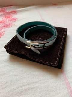 Hermes bracelet (two colour tone)