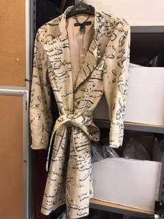 Marc Jacobs Tigre trench coat