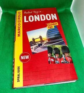 Marco Polo London Travel Guide Book