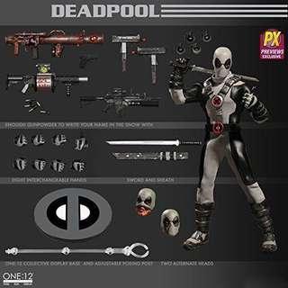 Mezco 1:12 deadpool Px 死侍 px限定 Marvel