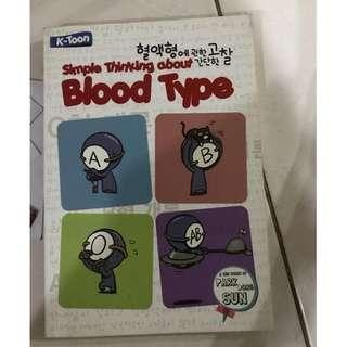 Blood Type Komik Korea bahasa Indonesia langsung 3 buku