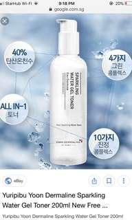 🚚 YURIPIBU Sparkling Water Gel Toner 200ml