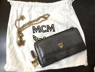 MCM 斜咩袋 銀包