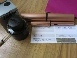 Lamy Lx Rose Gold Fountain Pen