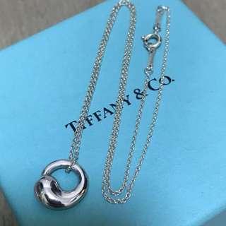 原價$1900 Tiffany Elsa Peretti Eternal Circle Pendant