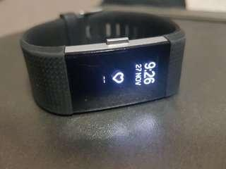 Fitbit Charge 2 HR + Charger