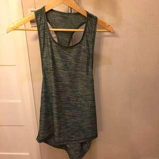 Work out top green